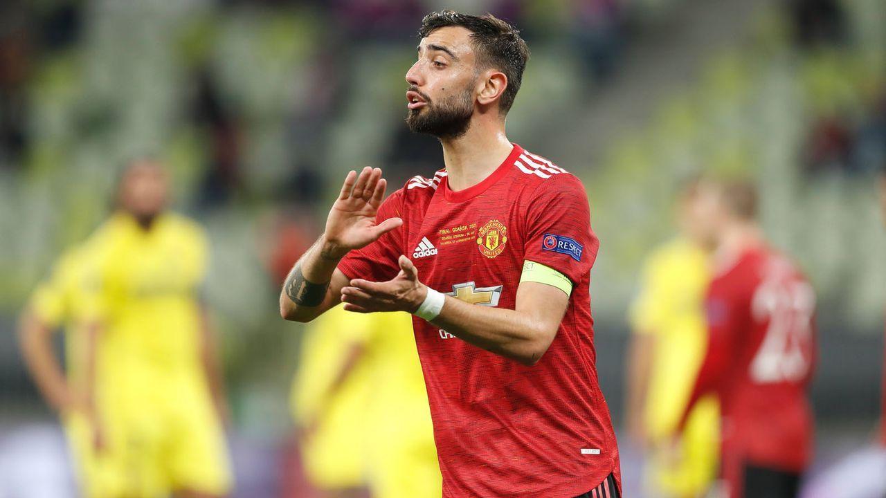 Mittelfeld: Bruno Fernandes (Manchester United) - Bildquelle: imago images/AFLOSPORT