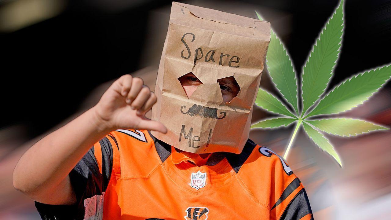 Bengals- und Browns-Fans stellen Antrag auf medizinisches Marihuana  - Bildquelle: getty