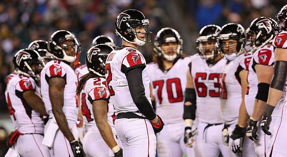 Platz 7: Atlanta Falcons - Bildquelle: 2018 Getty Images