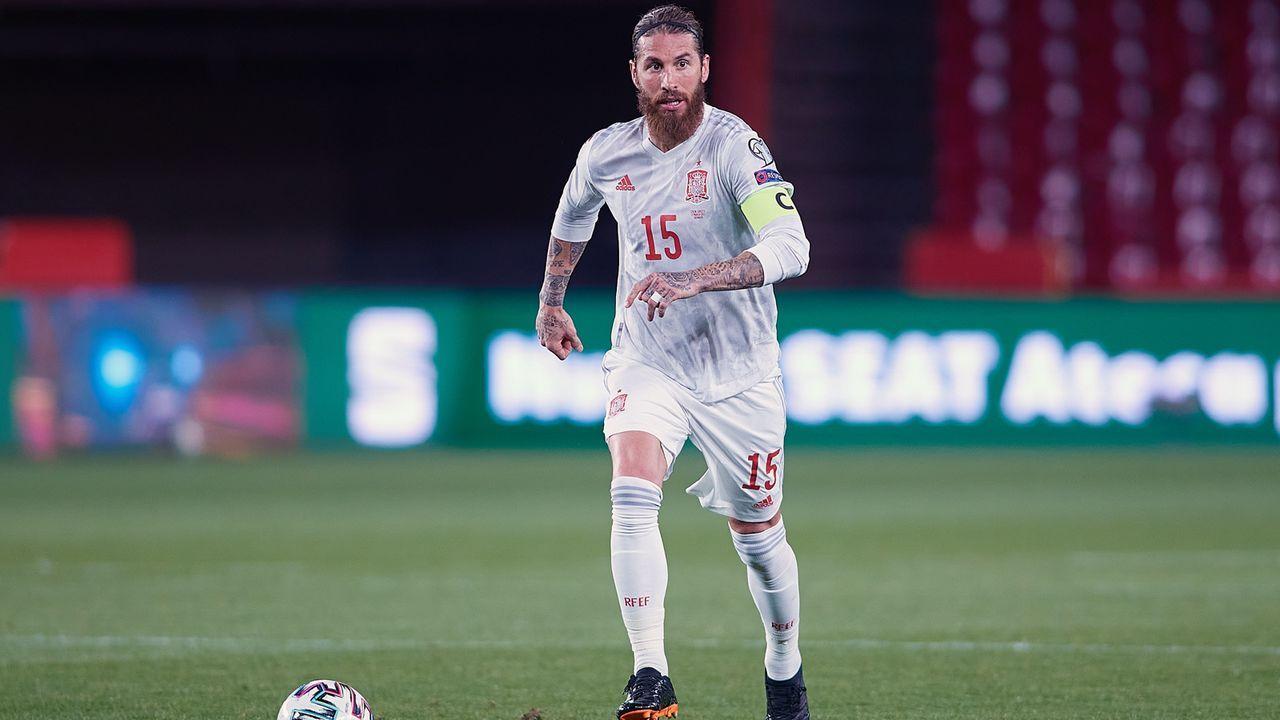 Sergio Ramos (Spanien) - Bildquelle: 2021 Getty Images