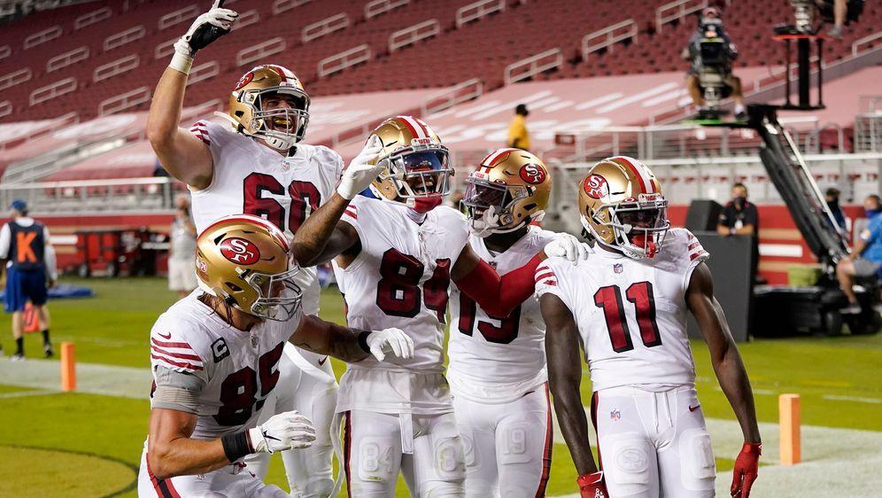 Die San Francisco 49ers könnten diese Saison vielleicht nicht mehr im heimis... - Bildquelle: 2020 Getty Images