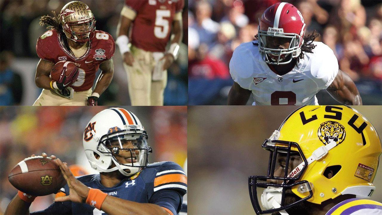 Top 10: Die Colleges mit den meisten NFL-Profis in Week 1 - Bildquelle: Imago