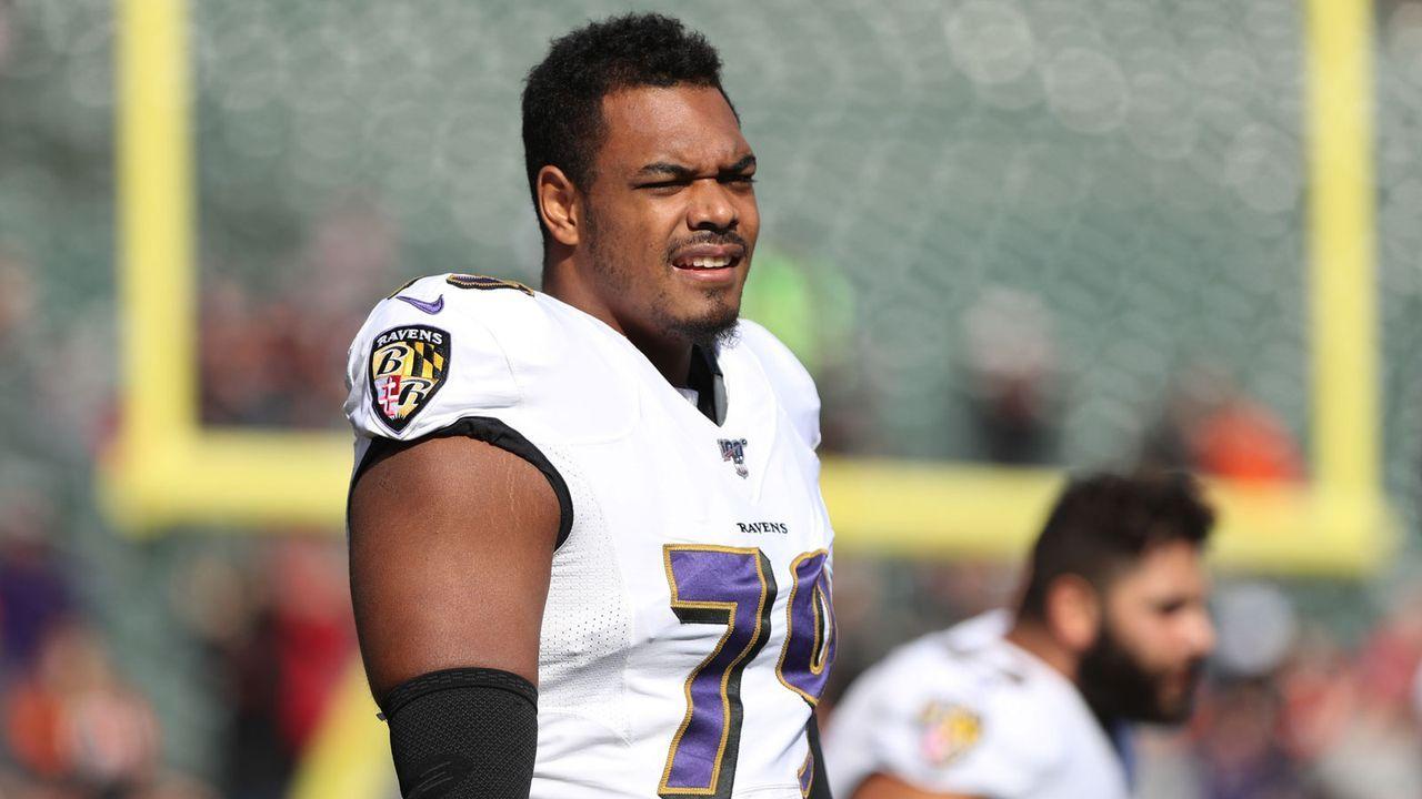 7. Platz: Ronnie Stanley (Offensive Tackle, Baltimore Ravens) - Bildquelle: Imago Images