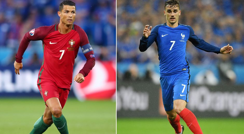 Portugal vs. Frankreich - Bildquelle: 2016 Getty Images