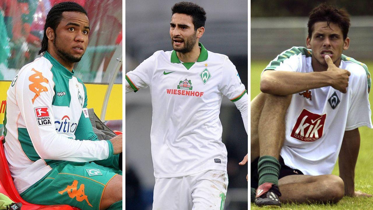 Die größten Flops von Werder Bremen - Bildquelle: imago