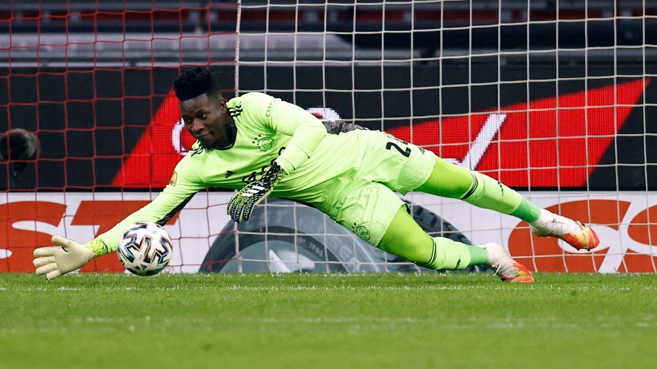 Andre Onana (Ajax Amsterdam) - Bildquelle: imago images/ANP
