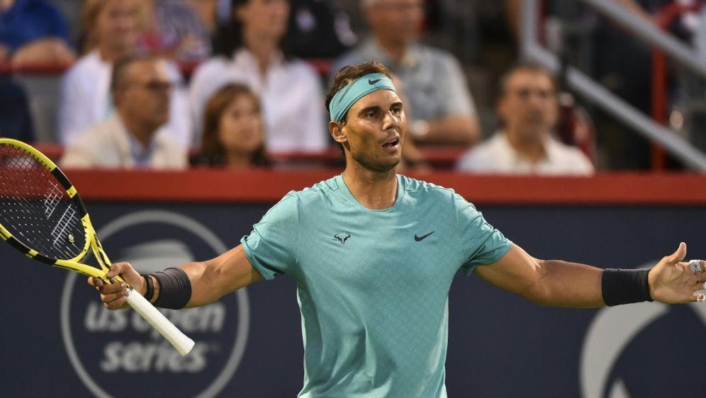 Nadal kampflos ins Finale von Montreal - Bildquelle: AFPGETTY SIDMinas Panagiotakis