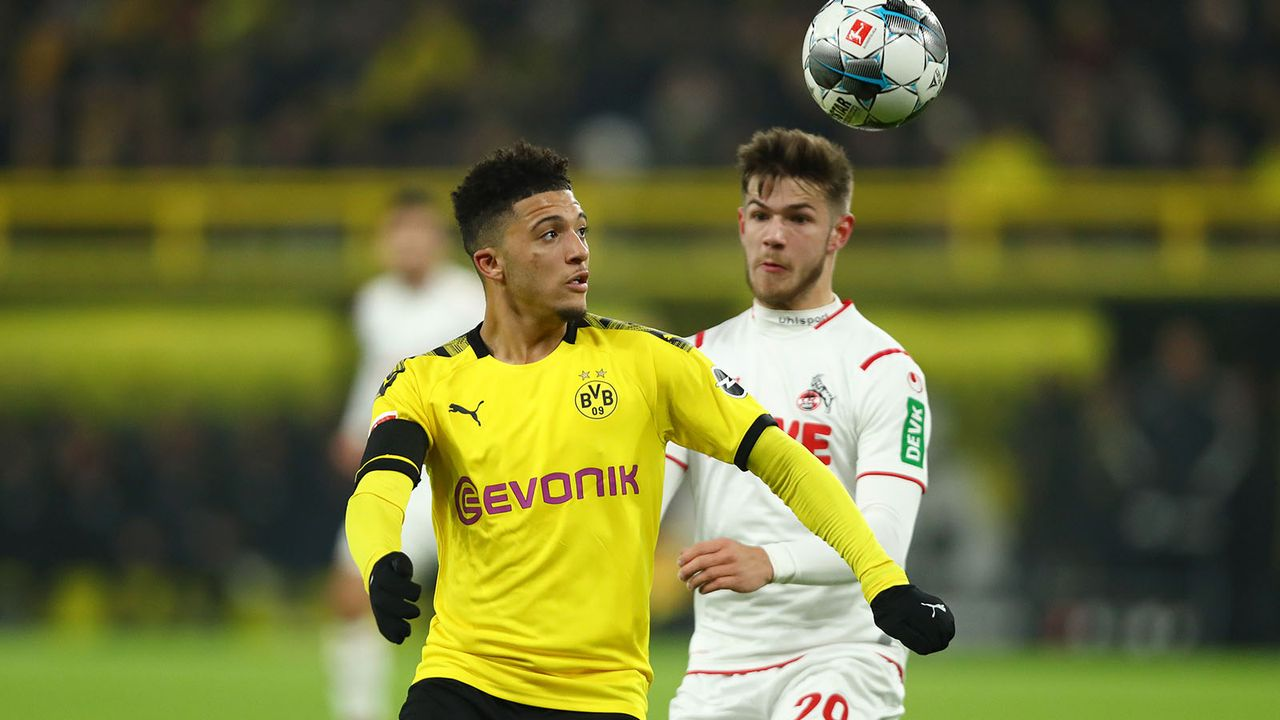 Jadon Sancho - Bildquelle: Getty