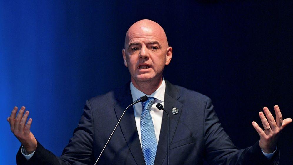 Infantino will Kuwait als Co-Ausrichter der WM 2022. - Bildquelle: SIDSIDAFPCARL DE SOUZA