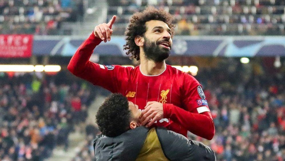 Mohamed Salah erzielte das 2:0 für die Reds - Bildquelle: FIROFIROSID