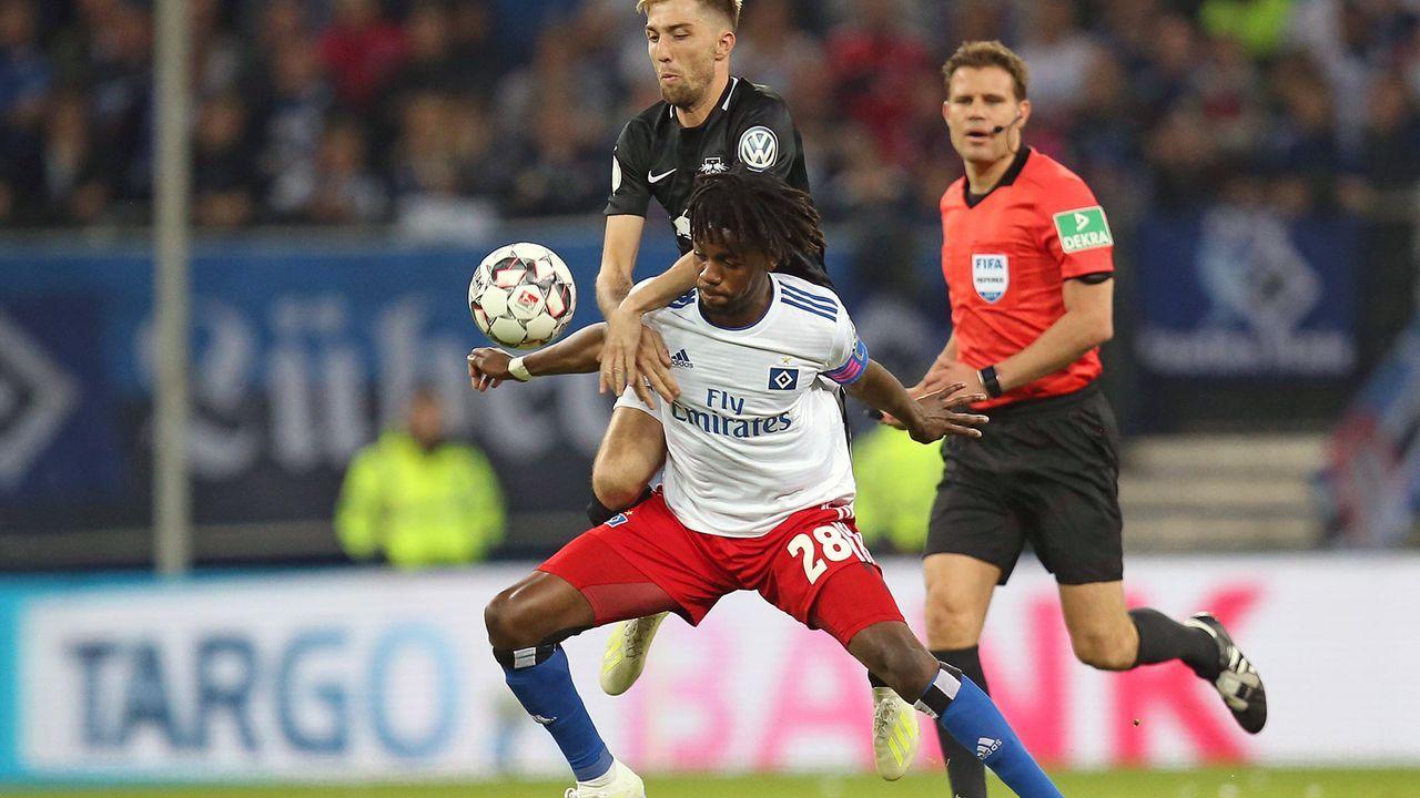 Gideon Jung (Hamburger SV) - Bildquelle: Imago