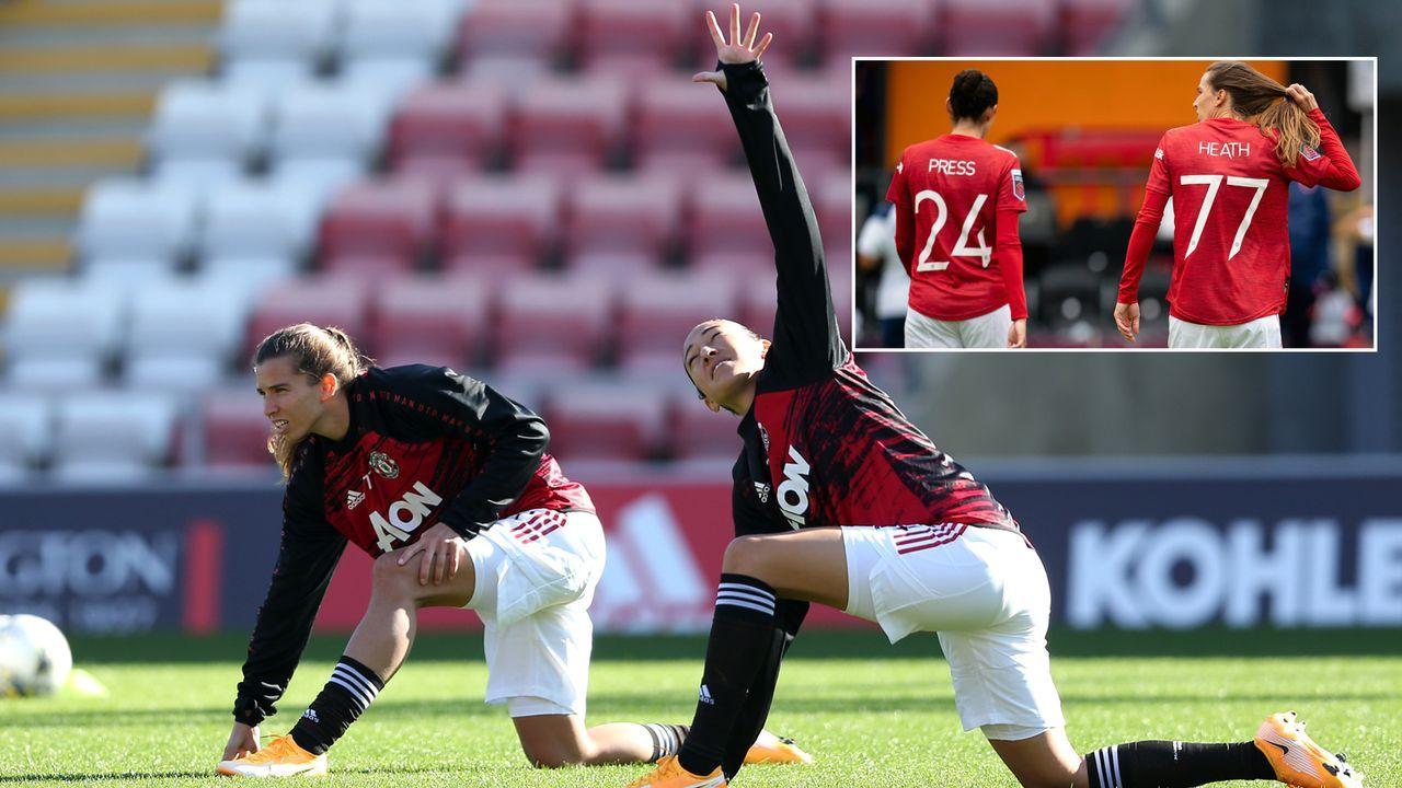 Manutd-Trikotverkäufe: Star-Spielerinnen Christen Press und Tobin Heath stechen Männerteam aus - Bildquelle: Getty Images/Imago