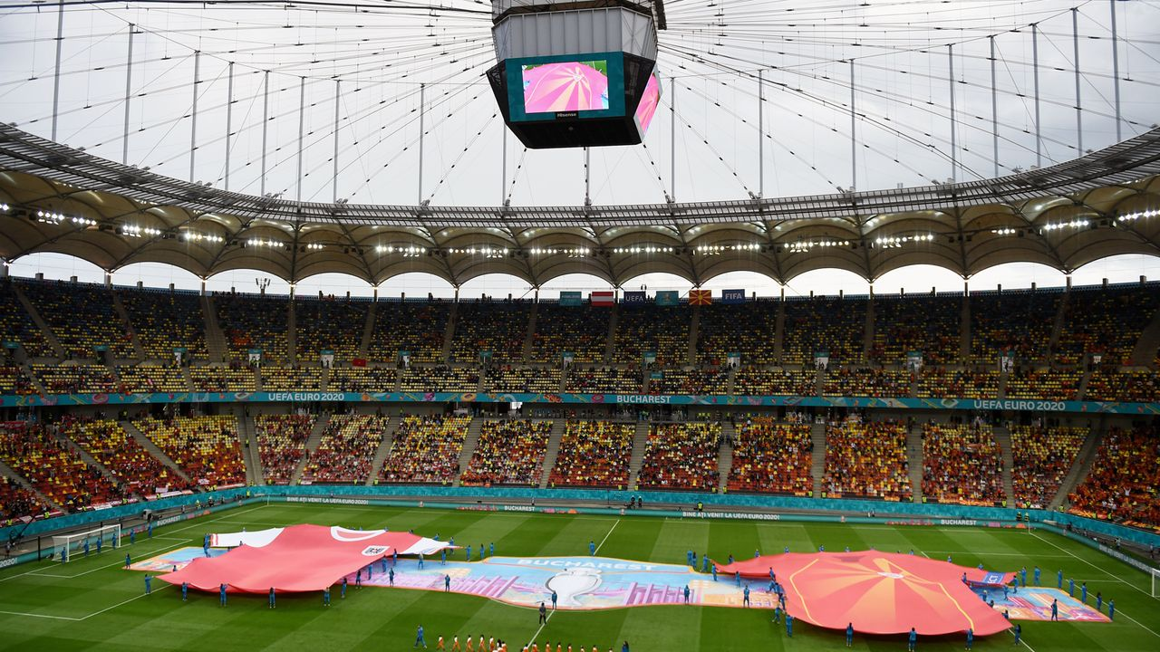 Nationalstadion Bukarest - Bildquelle: 2021 Getty Images