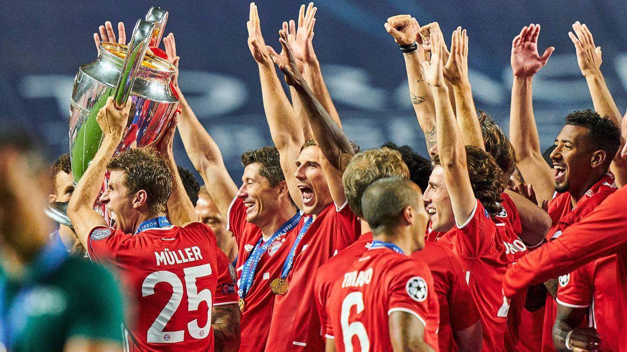 FC Bayern München (2019/20) - Bildquelle: Imago Images