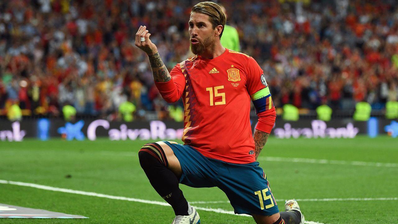 Spanien: Sergio Ramos - Bildquelle: 2019 Getty Images