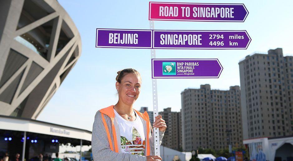 In zwei Wochen spielen die besten acht Spielerinnen der Saison um den Weltme... - Bildquelle: 2014 Getty Images