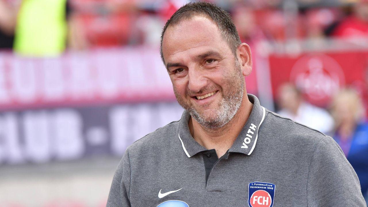 Frank Schmidt (1. FC Heidenheim) - Bildquelle: imago images / Zink