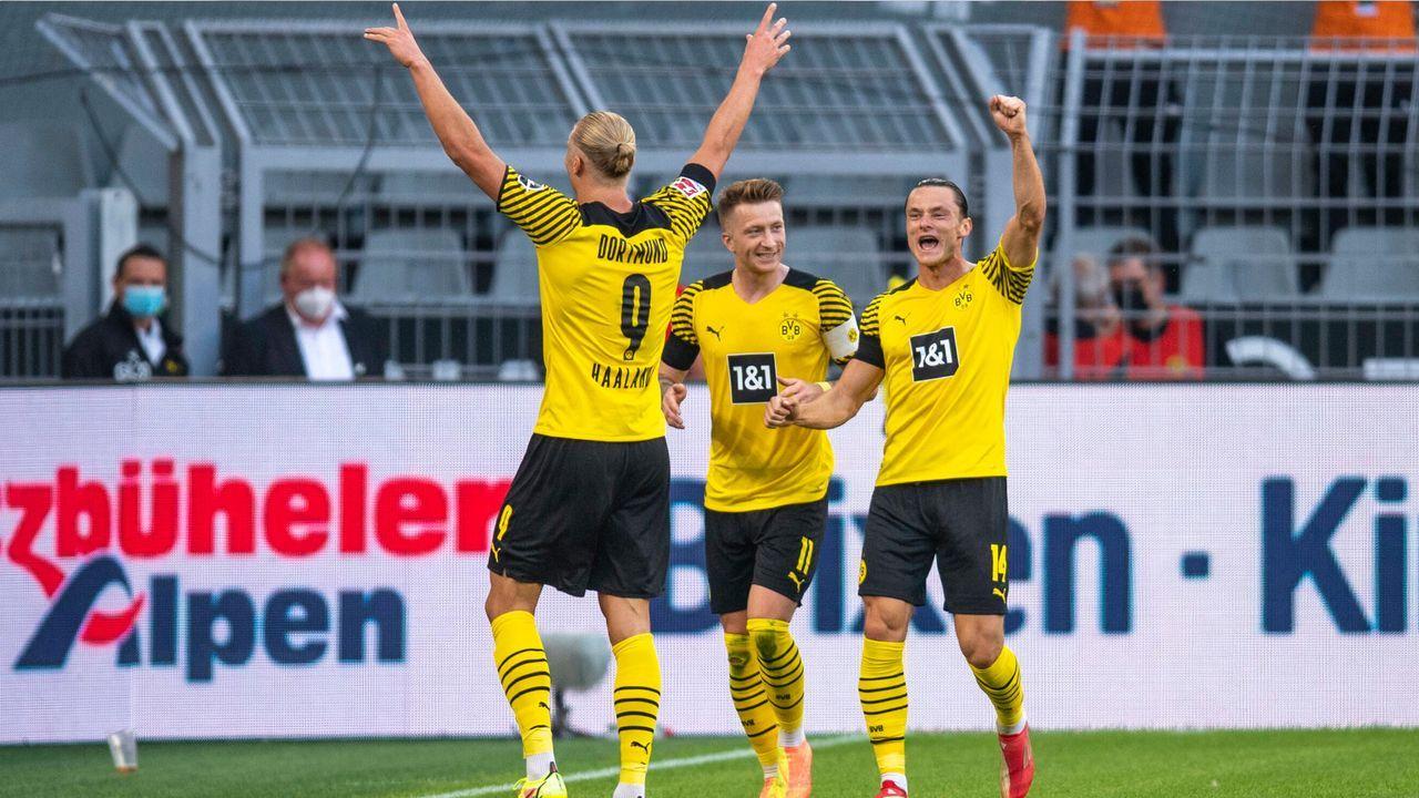 Kantersieg beim Debüt von Marco Rose: Die ran-Noten der BVB-Stars nach 5:2 gegen Frankfurt - Bildquelle: Imago Images