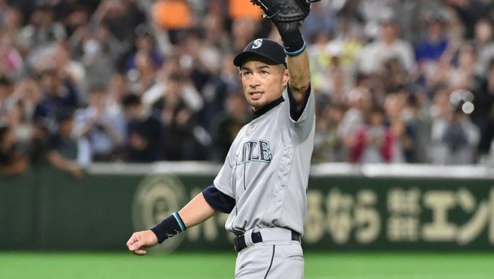 Ichiro Suzuki war seit 2001 in der MLB aktiv - Bildquelle: AFPSIDKAZUHIRO NOGI