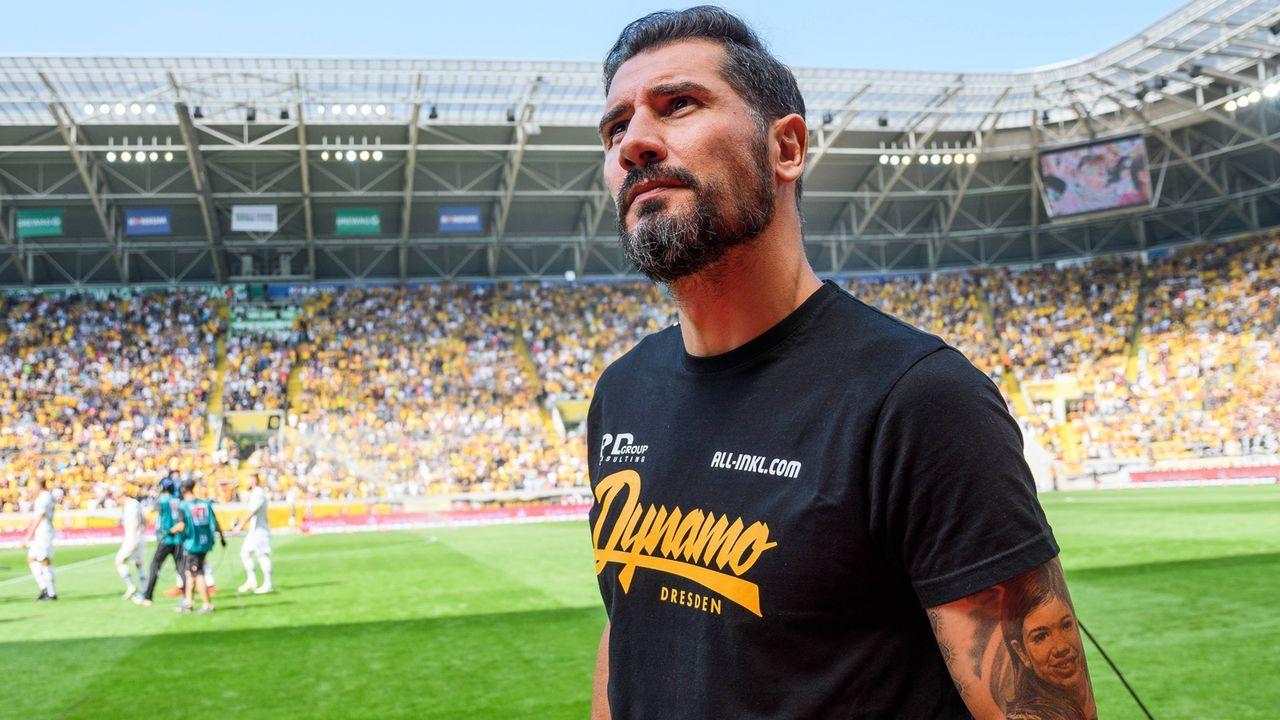 Cristian Fiel (Dynamo Dresden) - Bildquelle: imago images / Dennis Hetzschold
