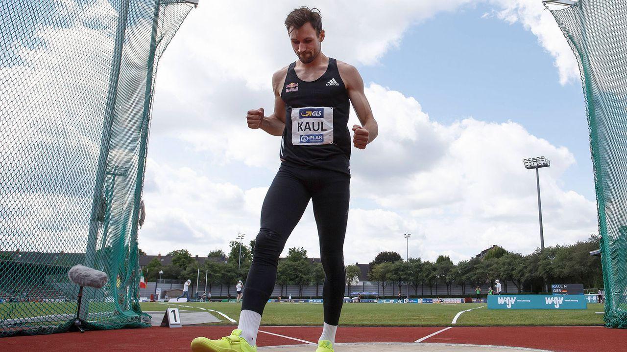 Niklas Kaul (Leichtathletik) - Bildquelle: imago images/Beautiful Sports