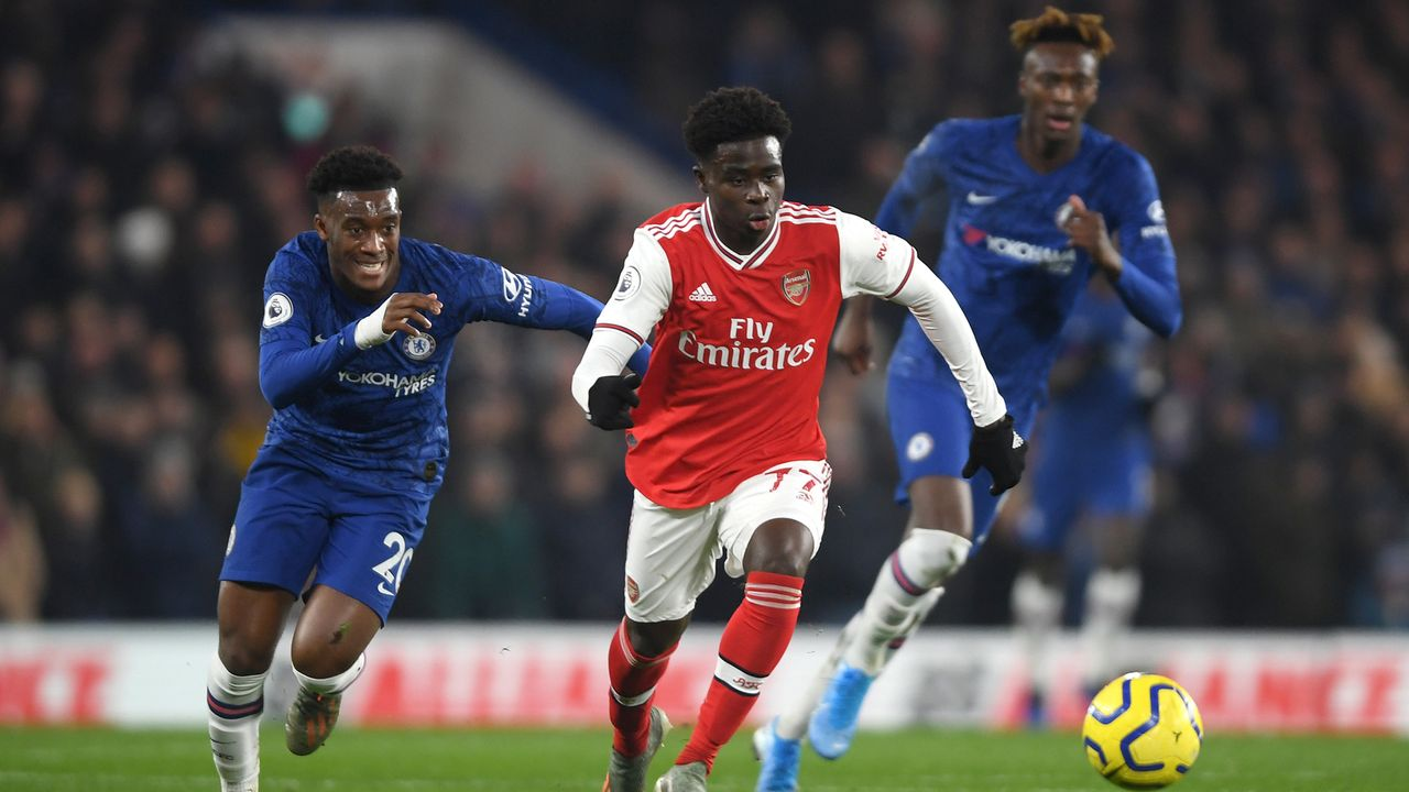 Bukayo Saka (FC Arsenal)  - Bildquelle: Getty Images