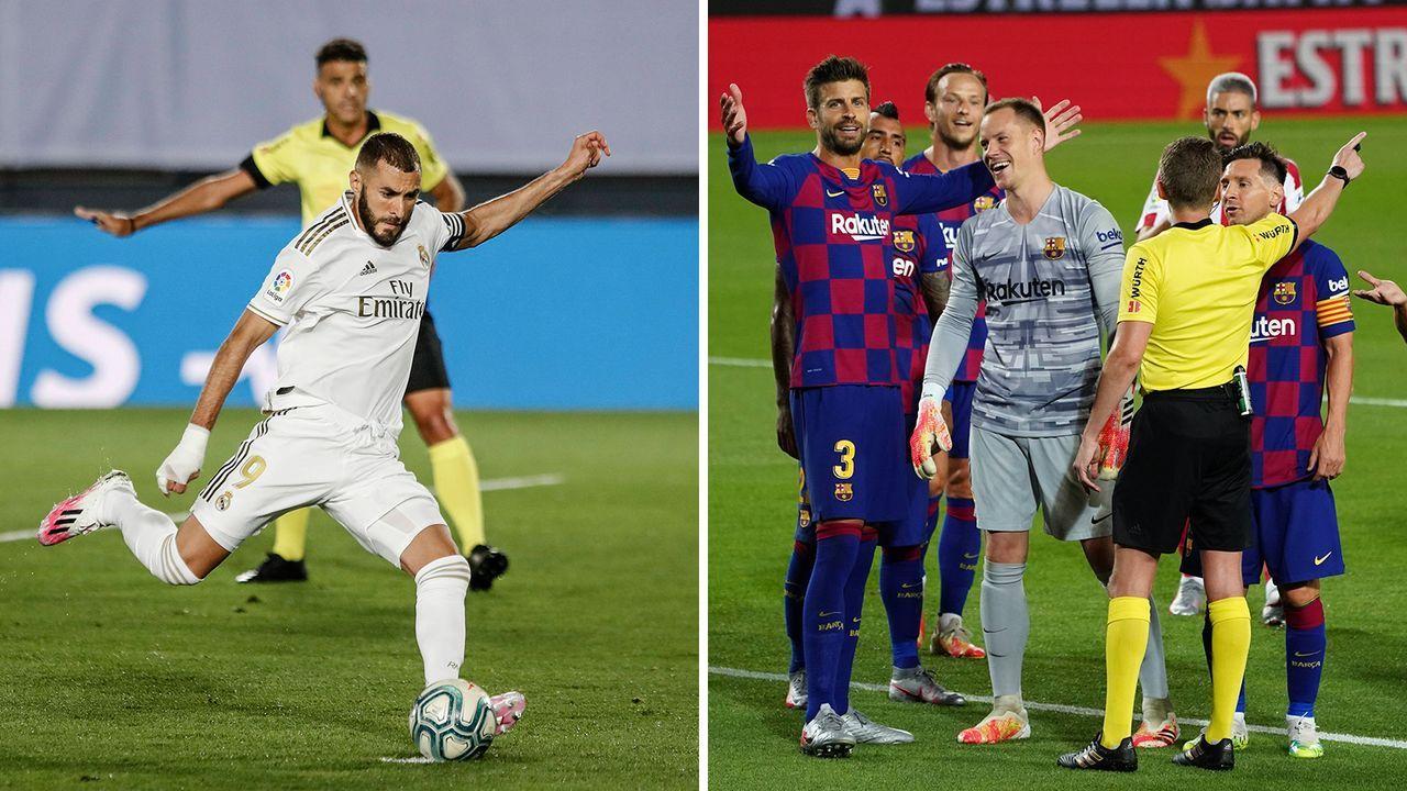 Real und Barca im Vergleich: Spielglück - Bildquelle: Imago