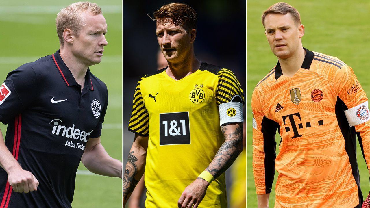 Die Bundesliga-Kapitäne der Saison 2021/22 - Bildquelle: Getty Images/Imago