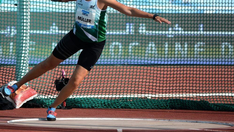 Nadine Müller landete als beste Deutsche auf Rang fünf - Bildquelle: AFPSIDFADEL SENNA