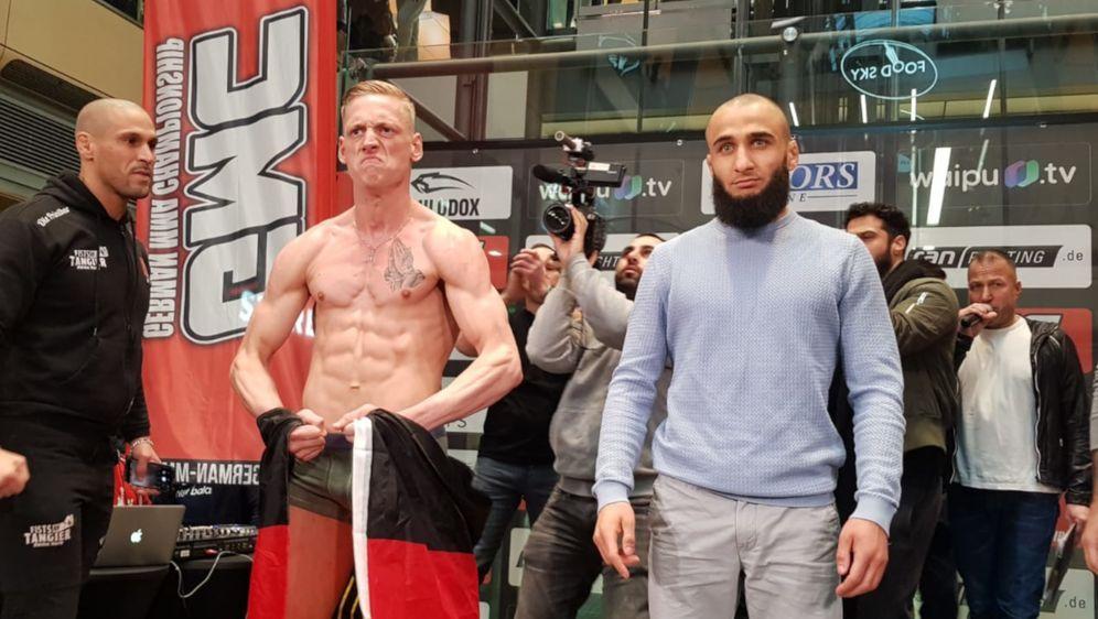 Felix Schiffarth (li.) und Ömer Solmlaz sind bereit für ihren Titelkampf - Bildquelle: Susann Brandes