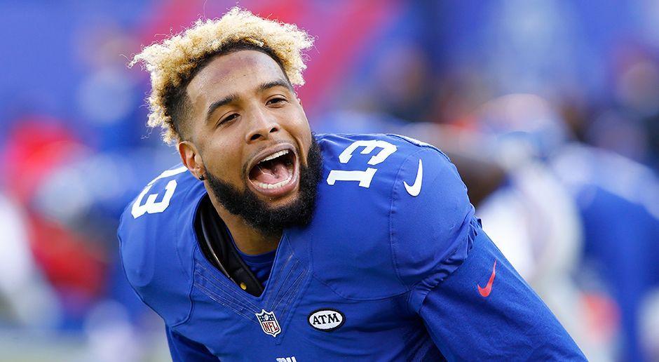 Platz 4: Odell Beckham Jr. - Wide Receiver (New York Giants) - Bildquelle: 2015 Getty Images