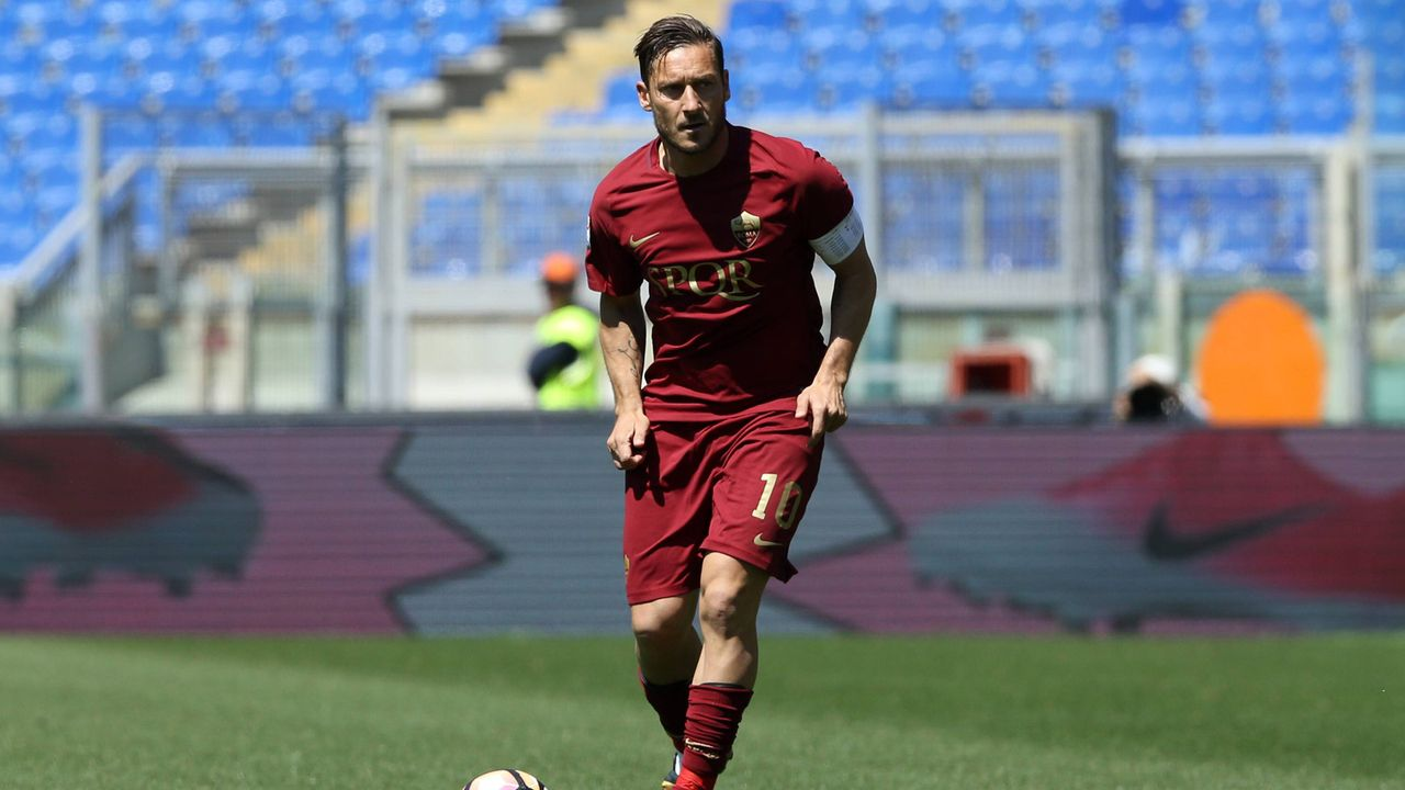 Platz 2: Francesco Totti - Bildquelle: imago/ZUMA Press