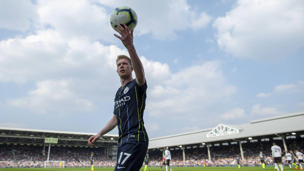 Kevin de Bruyne (Manchester City) - Bildquelle: imago