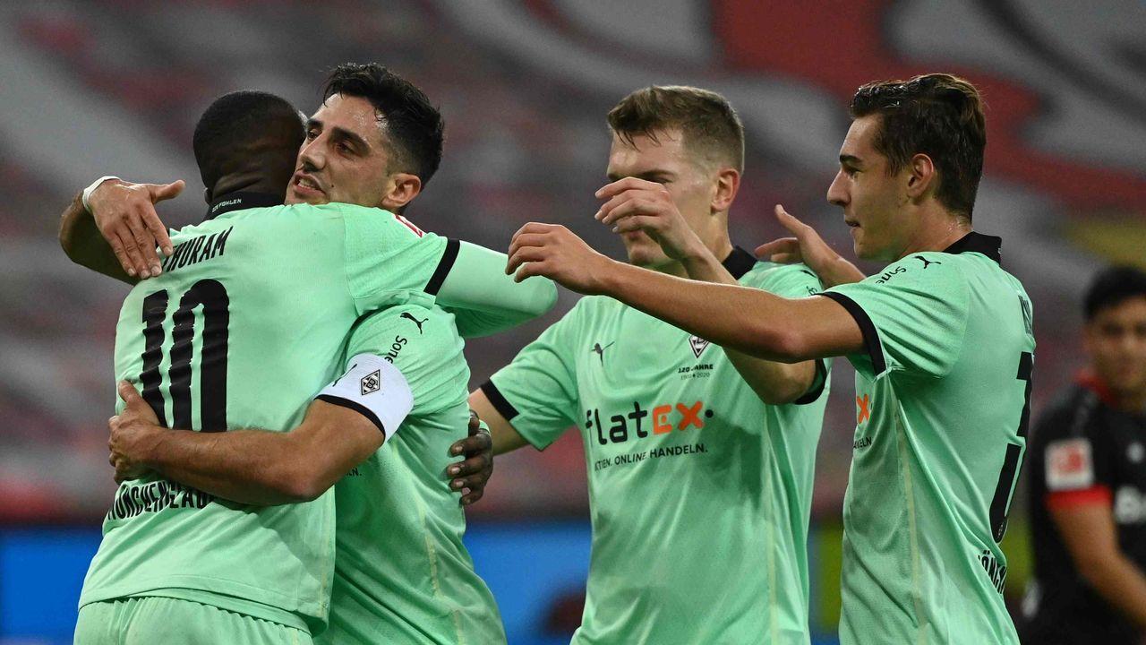 Platz 15: Borussia Mönchengladbach - Durchschnittlicher Tabellenplatz der Gegner: 12,8  - Bildquelle: getty