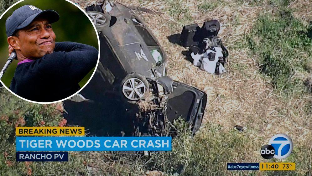 Tiger Woods musste nach einem Autounfall ins Krankenhaus. - Bildquelle: Imago