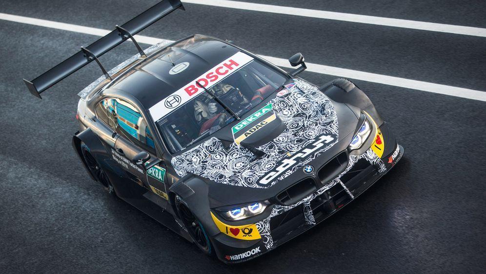 Der Testträger von BMW. - Bildquelle: Andreas Beil