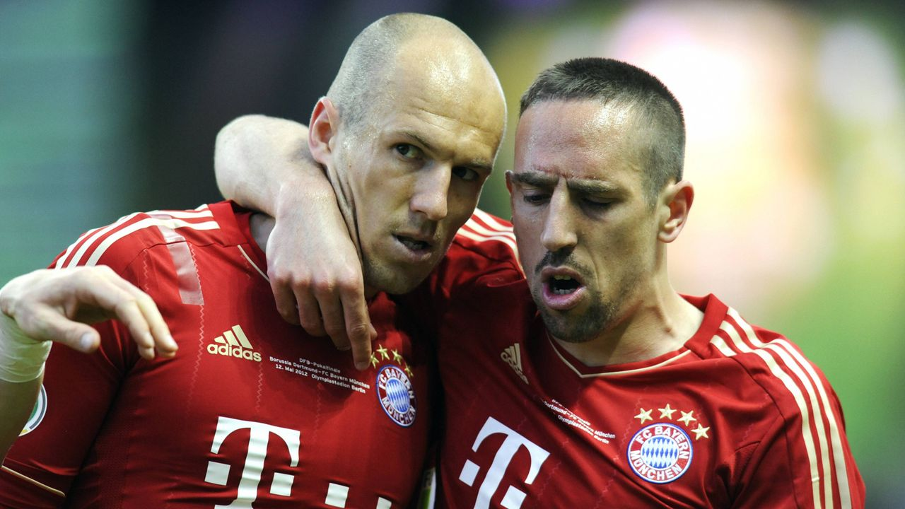 Arjen Robben vs. Franck Ribery - Bildquelle: imago sportfotodienst
