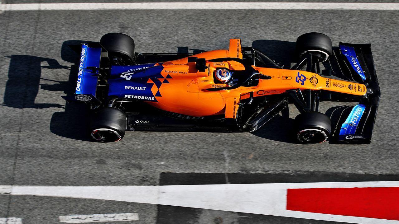 Platz 8: McLaren - Bildquelle: Getty