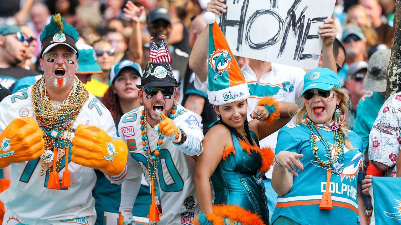 Miami Dolphins  - Bildquelle: imago images/ZUMA Press