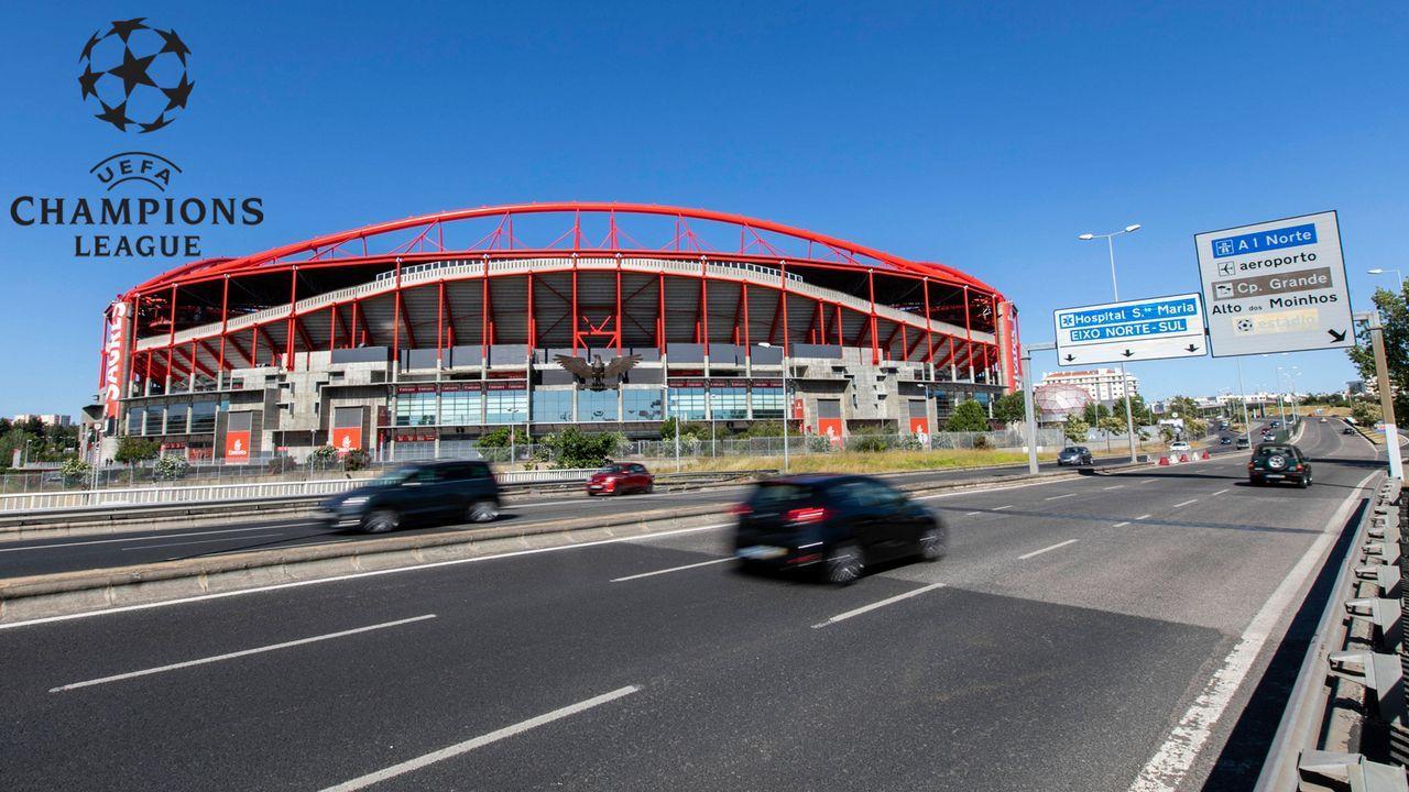 So laufen die Viertelfinal-Spiele beim Champions-League-Finalturnier in Lissabon - Bildquelle: imago images/ZUMA Wire