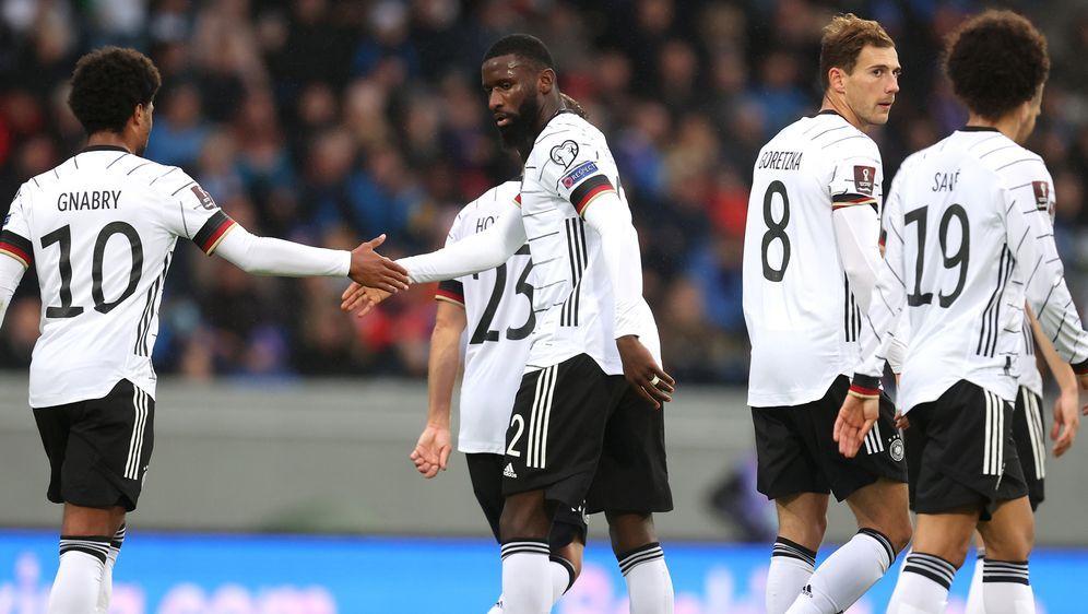 Die deutsche Mannschaft schlägt Island in der WM-Qualifikation - Bildquelle: 2021 Getty Images