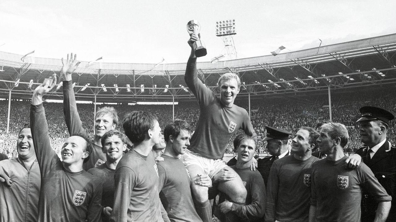 WM 1966: England - Deutschland 4:2 (2:2, 1:1) n.V. - Bildquelle: imago images/Horstmüller