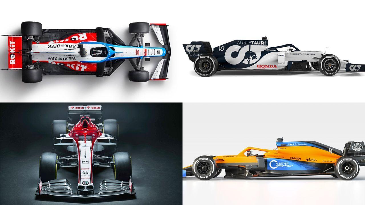 Formel 1: So sehen die Autos der Teams 2020 aus - Bildquelle: 2019 Getty Images