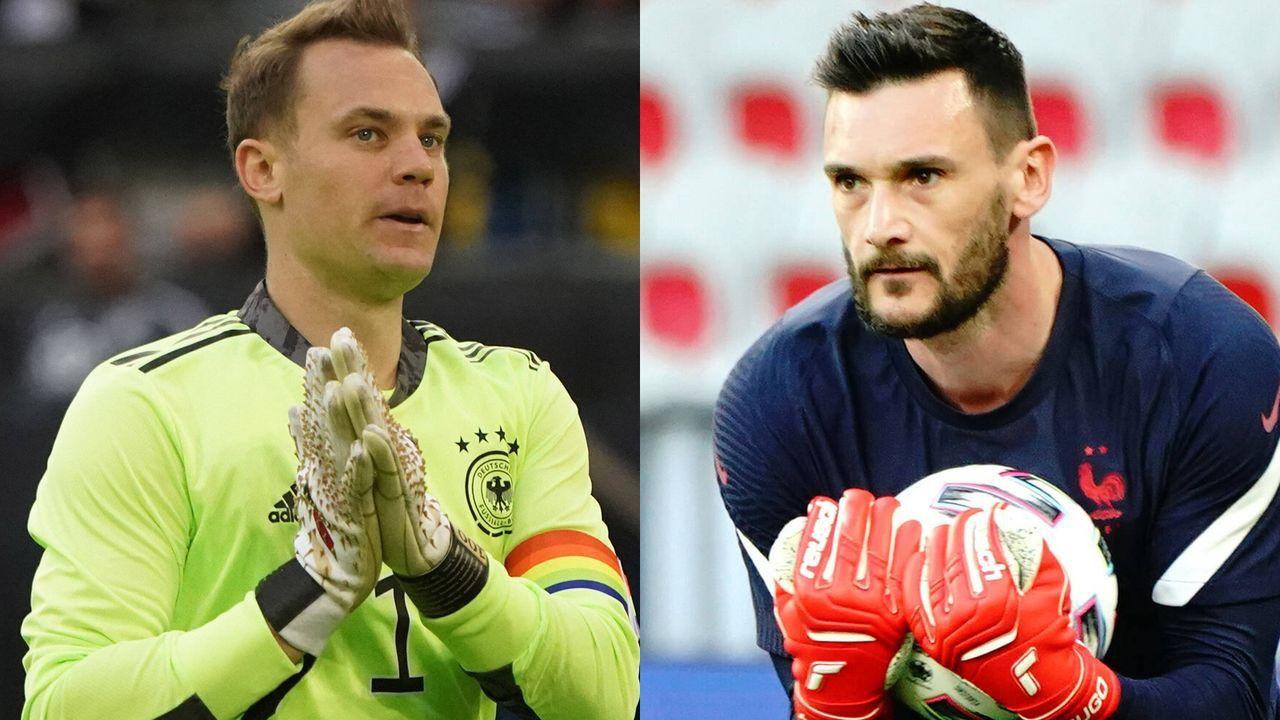 Tor: Manuel Neuer vs. Hugo Lloris  - Bildquelle: Imago