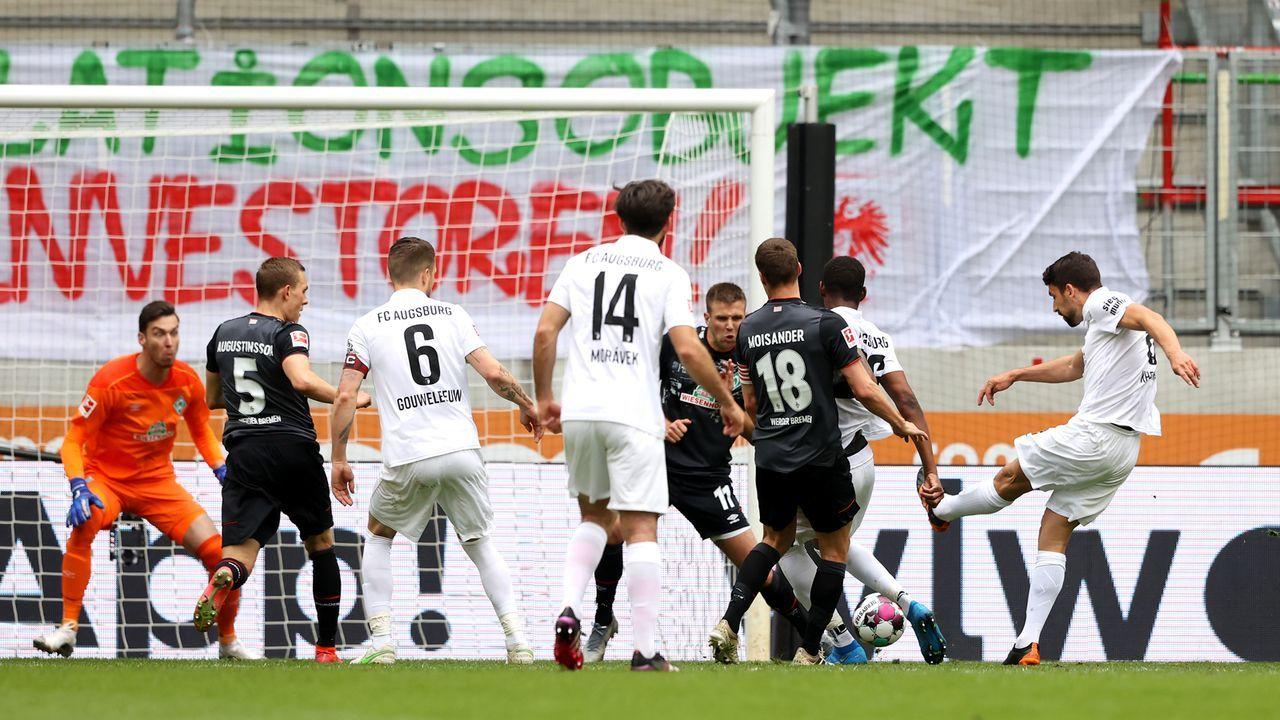 Erst Kartenausgleich, dann Gegentor - bittere Werder-Minuten - Bildquelle: 2021 Getty Images