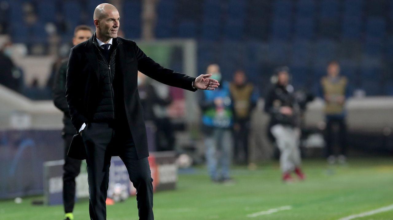 Zinedine Zidane (Real Madrid) - Bildquelle: 2021 Getty Images