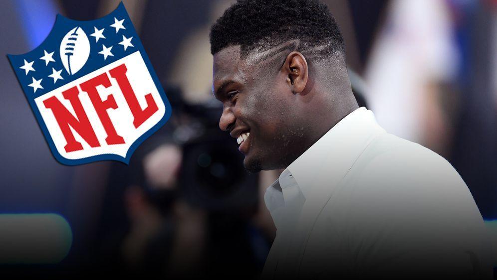 Zion Williamson hätte vielleicht auch in der NFL Karriere machen können - Bildquelle: 2019 Getty Images