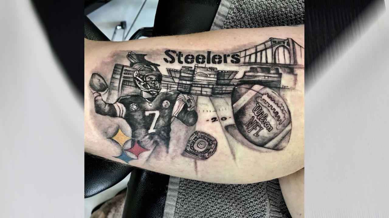 """Die Steelers, Pittsburgh und """"Big Ben"""" - Bildquelle: 2019 Getty Images, Twitter/@Line_backer87"""