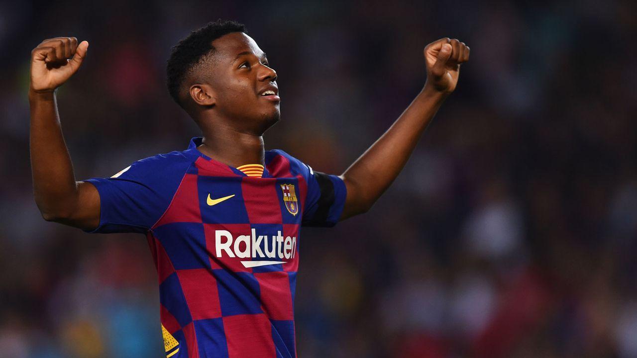 Barca-Wunderkind Fati zu jung für die Spieler des Spiels Auszeichnung - Bildquelle: Getty Images