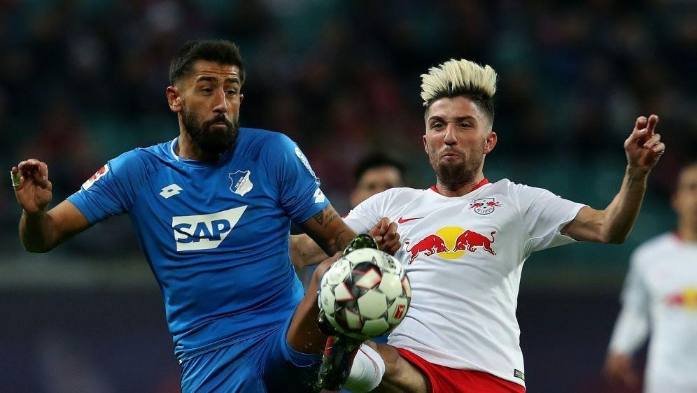 Leipzig und Hoffenheim trennten sich Unentschieden - Bildquelle: AFPSIDRONNY HARTMANN